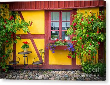Swedish Summer Canvas Print by Inge Johnsson