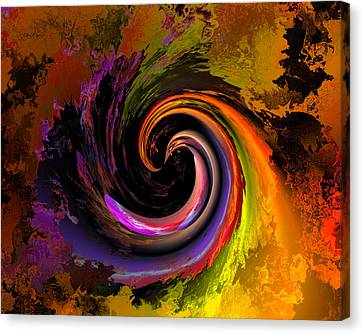 Sweeping Color Canvas Print by Claude McCoy