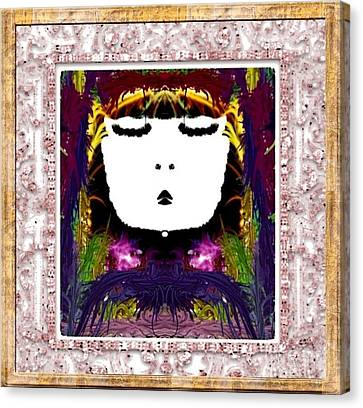 Sweet Canvas Print by Caroline Gilmore