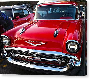Sweet Chevy Canvas Print by Denise Mazzocco