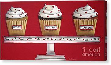 Sweet Delights Canvas Print by Catherine Holman