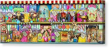 Sweet Shop Panoramic Canvas Print by Aimee Stewart