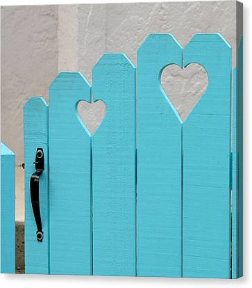 Sweetheart Gate Canvas Print by Art Block Collections