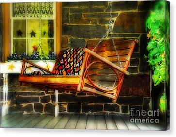 Swing Me Canvas Print by Lois Bryan