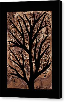 Swirling Sugar Maple Canvas Print by Barbara St Jean