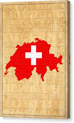 Switzerland Canvas Print by Andrew Fare