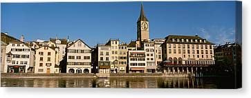 Switzerland, Zurich, Buildings Canvas Print by Panoramic Images