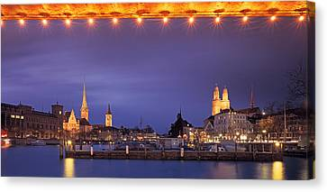 Switzerland, Zurich, Cityscape Canvas Print by Panoramic Images