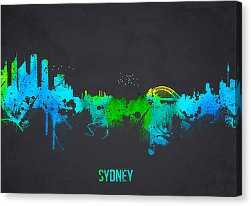 Sydney Australia Canvas Print by Aged Pixel