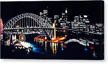 Sydney Canvas Print by Thomas Kolendra