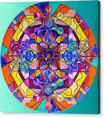 Synchronicity Canvas Print by Teal Eye  Print Store