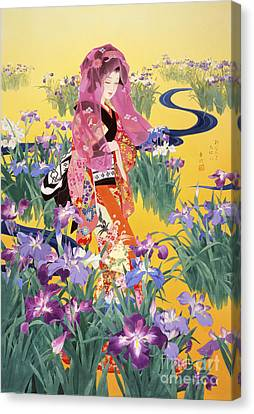 Syoubu Canvas Print by Haruyo Morita