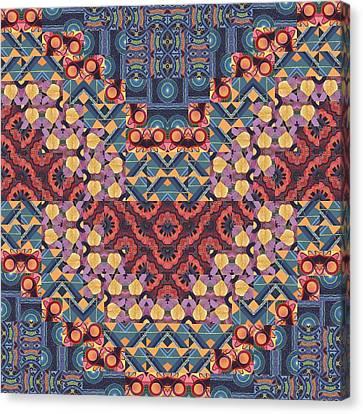 T J O D 5-5 Original Arrangement 2 Canvas Print by Helena Tiainen