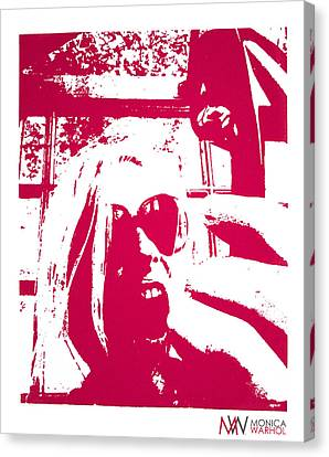 Ta Ta Telephone Canvas Print by Monica Warhol
