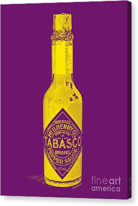 Tabasco Sauce 20130402grd Canvas Print by Wingsdomain Art and Photography