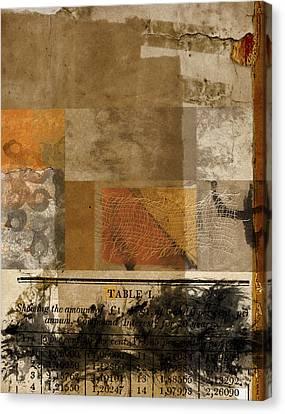 Table I Canvas Print by Carol Leigh