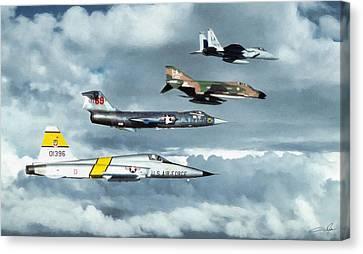 TAC Canvas Print by Dale Jackson