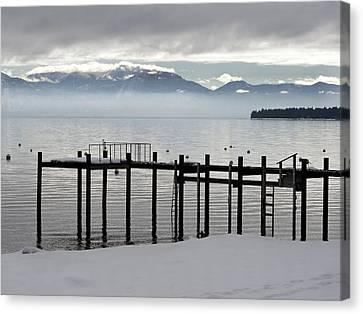 Tahoe Canvas Print by Alison Miles
