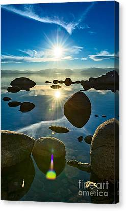 Tahoe Star Canvas Print by Jamie Pham