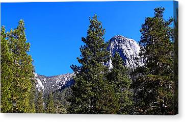 Tahquitz Rock - Lily Rock Canvas Print by Glenn McCarthy