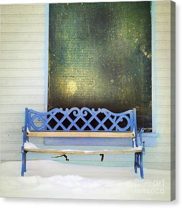 Take A Seat Canvas Print by Priska Wettstein