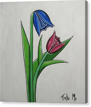 Take Me Canvas Print by Sandra Marie Adams