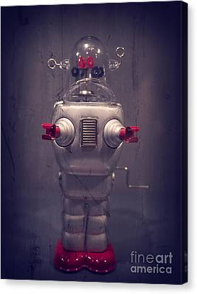 Take Me To Your Leader Canvas Print by Edward Fielding