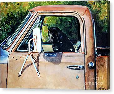 Take Me With You Canvas Print by Molly Poole