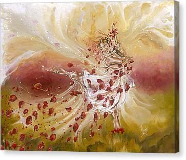 Take My Breath Away Canvas Print by Karina Llergo