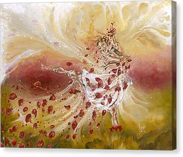 Take My Breath Away Canvas Print by Karina Llergo Salto