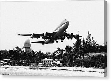 Take Off Canvas Print by James Markey