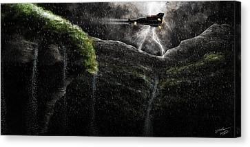 Take-off Canvas Print by Sasank Gopinathan