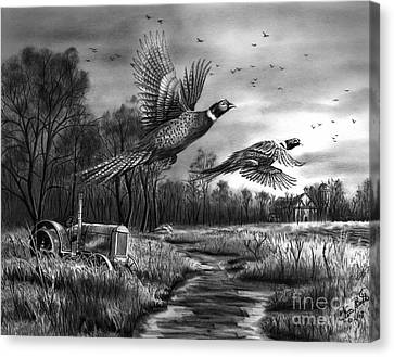 Taking Flight  Canvas Print by Peter Piatt