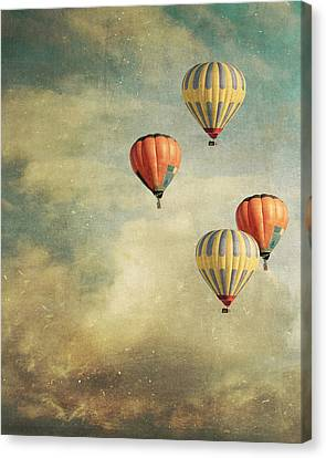 Tales Of Far Away Canvas Print by Violet Gray