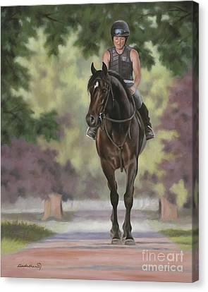 Tallboy Canvas Print by Linda Shantz