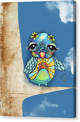 Tallulah Sunshine Canvas Print by Karin Taylor