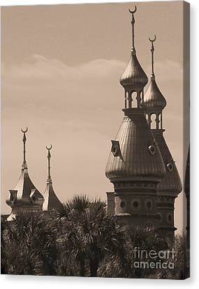 Tampa Minarets  Canvas Print by Carol Groenen
