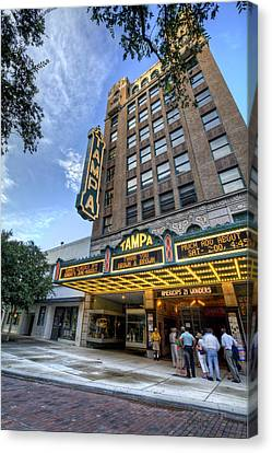 Tampa Theater 2 Canvas Print by Al Hurley