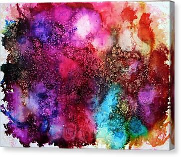 Tangible Canvas Print by Ann Marie Bone