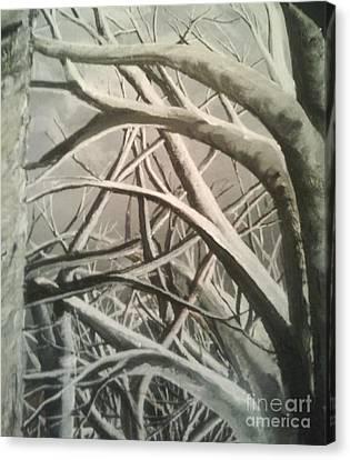 Tangle Canvas Print by Erik Coryell