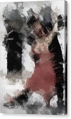 Tango 2 Canvas Print by Ayse Deniz