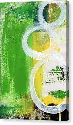 Tango- Abstract Painting Canvas Print by Linda Woods