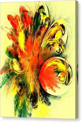Tango Canvas Print by Anastasiya Malakhova