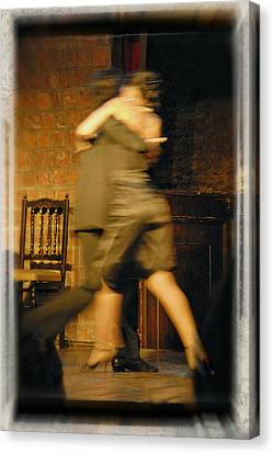 Tango Connection Canvas Print by Steven Boone