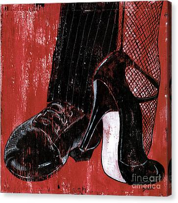 Tango Canvas Print by Debbie DeWitt