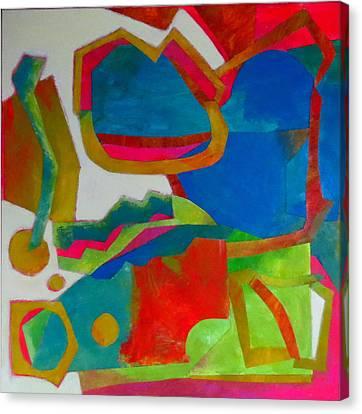 Tango Canvas Print by Diane Fine