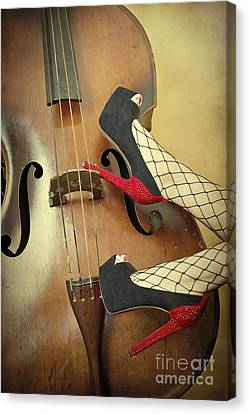 Tango For Strings Canvas Print by Evelina Kremsdorf