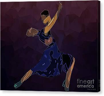 Tango To Heaven Canvas Print by Pedro L Gili