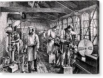 Tangy Brothers Engineering Works Canvas Print by Universal History Archive/uig