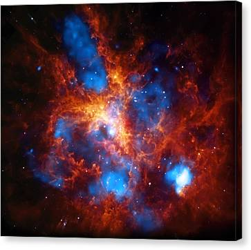 Tarantula Nebula Canvas Print by The  Vault - Jennifer Rondinelli Reilly